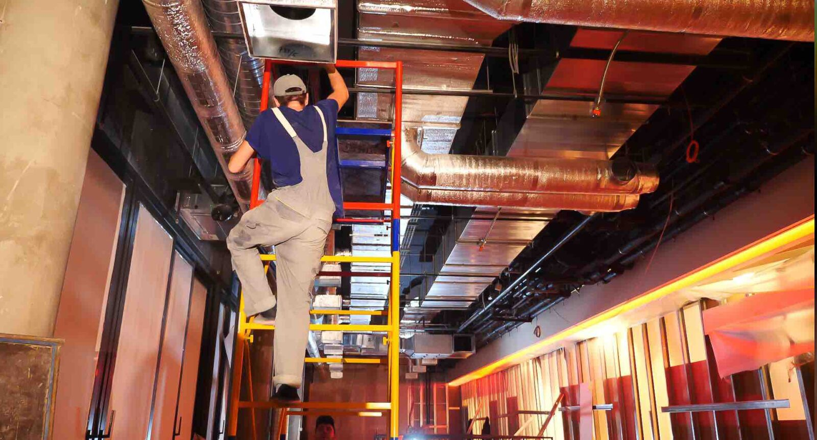 Installation of utility systems